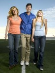 Connie Britton, Kyle Chandler, Aimee Teegarden - Tami, Eric and Julie Taylor